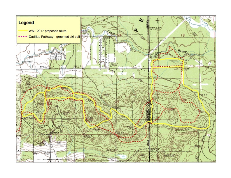 Trail Maps Cadillac Pathway